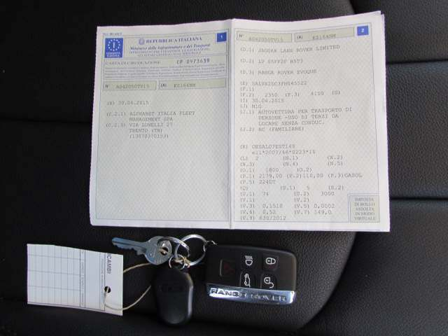 Foto 11 di Land Rover Range Rover Evoque 2.2 TD4 5p. Pure Tech Pack
