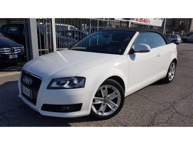 Audi A3 2ª serie Cabrio 2.0 TDI F.AP. S tronic Ambition